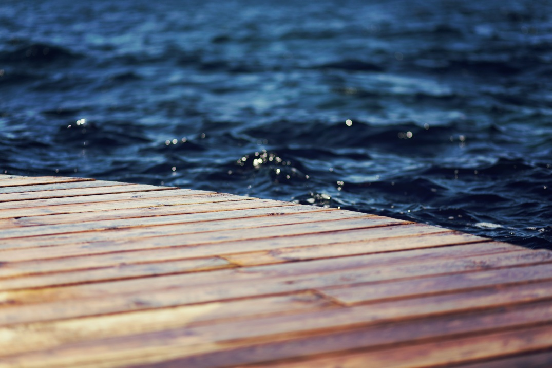 water, blue, wood, brown